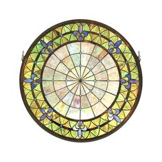 I pinned this Victorian Medallion Stained Glass Window from the Style Study event at Joss & Main!
