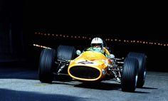 Denny Hulme (NZL), McLaren M7A - Monaco, 1968.