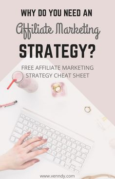 Why do you need an affiliate marketing strategy? Instead of spending hours on dropping affiliate links everywhere and hoping for the best, you need to build and implement a strategy that will help you focus on creating high quality content with affiliate links that can actually convert!