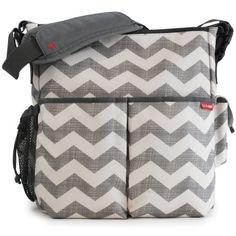 Skip Hop Duo Essential Diaper Bag - Chevron