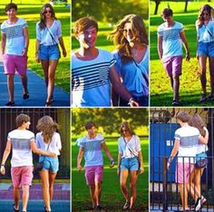 Eleanor Calder and Louis Tomlinson<3 these were the first photos I ever saw of Eleanor when I first joined the fandom x