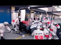 Jenson Button's F1 Pitstop Masterlcass - YouTube