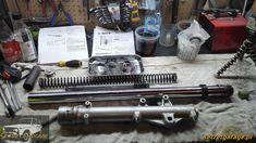Yamaha XTZ 750 Super Tenere suspension rework