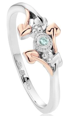 Clogau Ring Love Vine Affinity Stacking Silver | C W Sellors Fine Jewellery and Luxury Watches