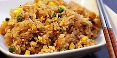 Chinese Takeout Fried Rice Rice Recipes, Side Dish Recipes, Cooking Recipes, Copycat Recipes, Yummy Recipes, Amazing Recipes, Yummy Food, Rice Dishes, Food Dishes