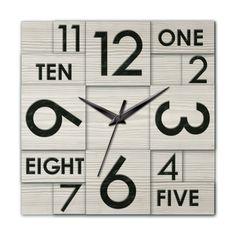 Ashton Sutton Modern Home Multi Layer Wall Clock & Reviews | Wayfair
