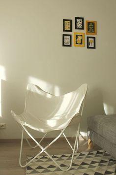 Butterfly chair!  Hyypiön elämää: Haaveista totta - Lepakkotuoli