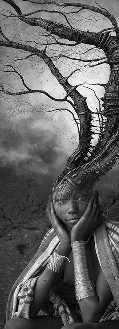 Alien Tree ☆ By Antonio Mora ☆ -repinned by LA portrait studio http://LinneaLenkus.com  #portraitphotographer