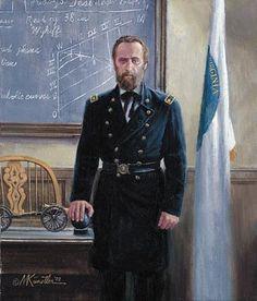 mort kunstler civil war paintings | the-professor-from-virginia-thomas-j-jackson-at-vmi-mort-kunstler.jpg