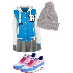 """""""casually blue"""" by dyandraajeng on Polyvore"""