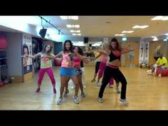 Zumba  with Salo - Gloria Estefan Wepa (The Song for the crazy song!)