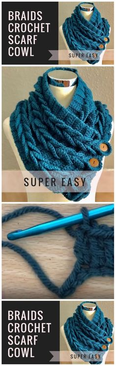 Crochet Scarf For Beginners