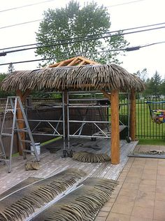 diy tiki huts TIKI KEVs Tiki Hut Gallery Wedding Crasher
