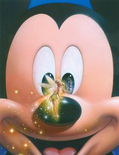 Disney - Mickey Mouse and Tinkerbell