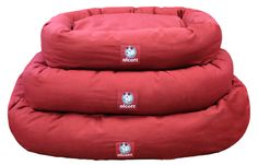 ✓ Alcott Adventures - Hundezubehör - dog gear - Bett für Hunde, Hundkissen rot - Bed for dogs