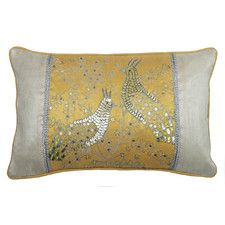 Peacock Lumbar Cushion - Wayfair