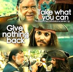 Pirates of the Caribbean. A Pirates life for me!