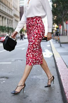 5 Tips for Nailing Your First-Day-of-Work Look. Impress your boss one stylish step at a time. #fashiontrends