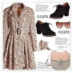 """print coats"" by duma-duma ❤ liked on Polyvore featuring Fall, animalprint and coat"
