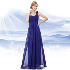Ever-Pretty is the place to find hundreds of beautiful gowns and affordable dresses in unique and fashion-forward styles. We are known for our beautiful bridesmaid dresses, evening dresses, cocktail dresses. Long Prom Gowns, Chiffon Evening Dresses, Long Evening Gowns, Prom Dresses, Evening Party, Dress Long, Wedding Bridesmaid Dresses, Party Gowns, Wedding Party Dresses