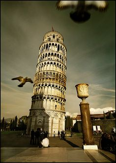 Leaning Tower - Pisa - Italy (von izarbeltza)