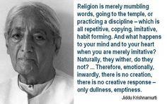 Krishnamurti Quotes