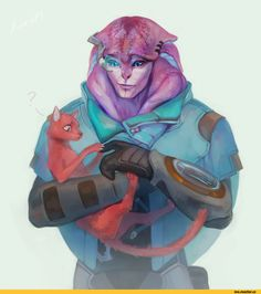 LeraPi,Jaal,ME персонажи,Mass Effect,фэндомы
