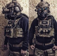CAG loadout to include CBRNE mask