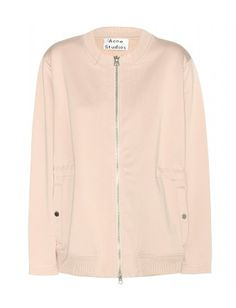 Acne Studios - Faviana jacket - We love the urban, bomber-style cut, plus that fresh, neutral hue. Team with boyfriend jeans for a streetwise statement - @ www.mytheresa.com
