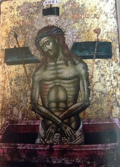 Aghios Stephanos -Meteora Monastery Byzantine Icons, Byzantine Art, Religious Paintings, Religious Art, Roman Church, Black Jesus, Orthodox Icons, Ikon, Jesus Christ
