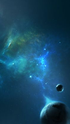 Outer space planets #iPhone 5s #Wallpaper | Download more in http://www.ilikewallpaper.net/iphone-5-wallpaper/.