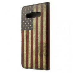Galaxy A3 Yhdysvaltojen lippu puhelinlompakko