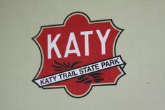 Katy Trail State Park - logo on park ranger truck