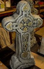 """Concrete Cement Mold Large 25"""" Free Standing Cross"""