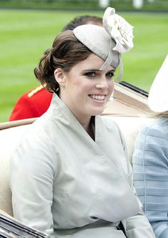 Princess Eugenie was pretty in a hat by Welsh milliner Robyn Coles