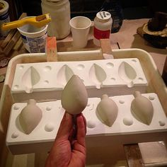 WEBSTA @ m.p.ward - 1st slip casting success!!! #molds #slipcasting #ceramics…