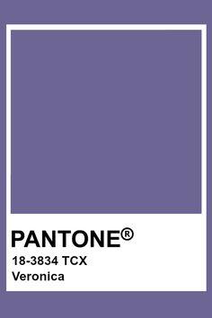 Pantone Veronica Light Purple Flowers, Purple Hues, Deep Purple, Periwinkle Blue, Paleta Pantone, Pantone Tcx, Pantone Colour Palettes, Pantone Color, Colour Board