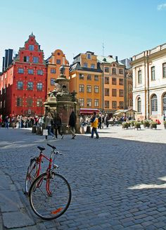 This little square is a place we always visit when we are there... Stockholm | Flickr - Photo Sharing!