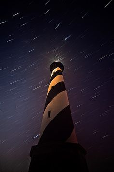 My two utmost fav things together. Stars and lighthouse!