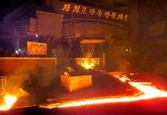 세차게 타오르는 증산의 불길 -김책제철련합기업소에서--《조선의 오늘》