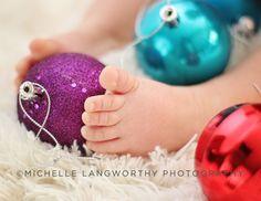 O primeiro Natal do bebê em fotos - Mundo Ovo