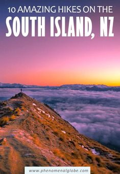 Check out these 10 amazing South Island hikes, from a 15-minute walk to multiday trails. You will be spoilt for choice when hiking the South Island of New Zealand! #NewZealand #SouthIsland #hiking Travel Advice, Travel Ideas, Travel Inspiration, Travel Tips, New Zealand Itinerary, New Zealand Travel Guide, Amazing Destinations, Travel Destinations, North Island New Zealand
