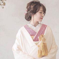 Wedding Hairstyles, Style Me, Character Design, Kimono, Marriage, Sari, Japan, Gowns, Bridal
