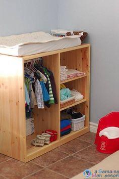 meubles change et vêtement montessori                                                                                                                                                                                 Plus