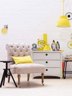 Einrichten und wohnen mit Farben, gelb - [LIVING AT HOME]
