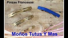 FORRADO DE PINZA FRANCESA Paso a Paso LINED FRENCH BARRETTE How To DIY T...