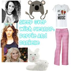 """Sleep Over With Eleanor, Perrie And Danielle"" by chloe-tomlinson on Polyvore"