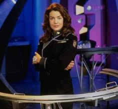And since I mentioned her earlier, Claudia Christian as Susan Ivanova from Babylon 5.  You know for all the blondes I like in DC Comics, it seems like all my heroes from TV and movies are brunettes. You can add to that Gina Torres, Maggie Q, Angelina Jolie, Lucy Lawless (as Xena), Pam Grier, probably a billion others I'm too tired to remember right now. I am sure my wonderful followers will let me know of some blonde (or redhead?) action heroes? (Oh Jojo was blonde…)