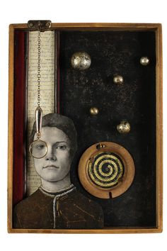 ⌼ Artistic Assemblages ⌼  Mixed Media & Collage Art - IKass Copeland