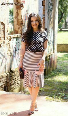 Look do Dia: Mix de Estampas Lemon Rosa   Blog da Paola